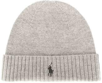 Polo Ralph Lauren logo knitted hat