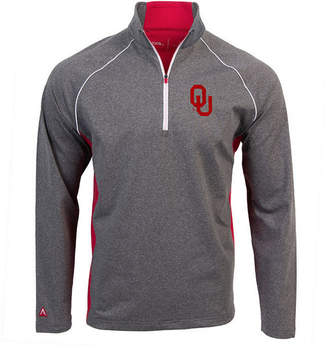 Antigua Men's Oklahoma Sooners Stamina Quarter-Zip Pullover
