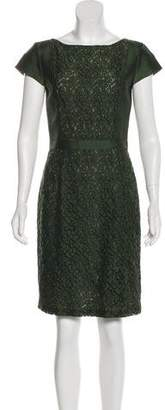 Tory Burch Lace-Accented Sheath Dress