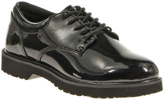 BATES Bates Hi Gloss Womens Patent Leather Duty Oxfords - Wide Width