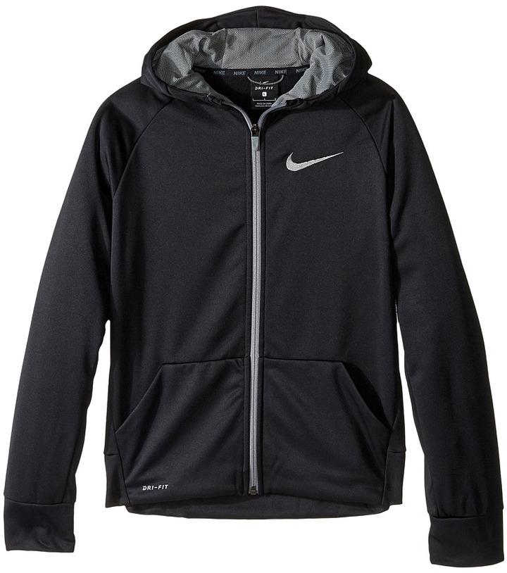 Nike Kids Therma Full-Zip Hoodie (Little Kids/Big Kids)