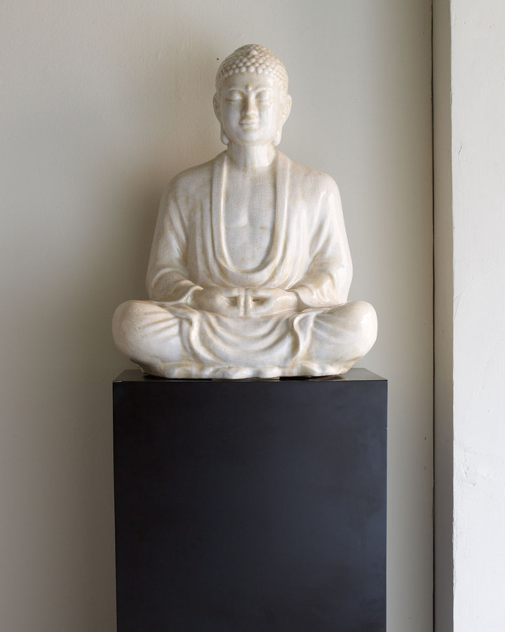 Horchow Meditating Figure