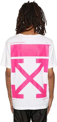Off-White Bart Embroidered Cotton Jersey T-Shirt
