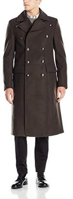 GUESS Men's Tomlin Melange Wool Coat