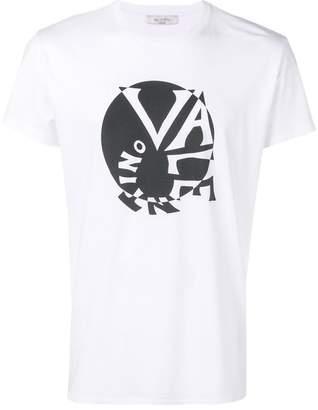 Valentino spiral logo print T-shirt