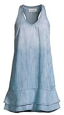 Bella Dahl Women's Sleeveless A-Line Denim Dress