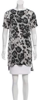 Stella McCartney Silk Leopard Dress