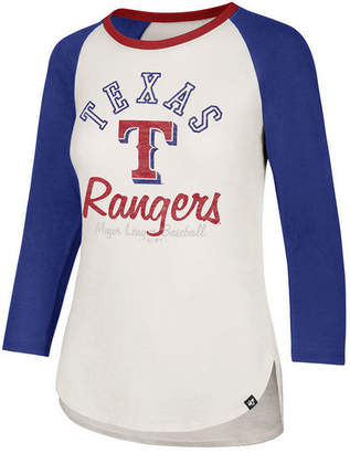 '47 Women's Texas Rangers Vintage Raglan T-Shirt