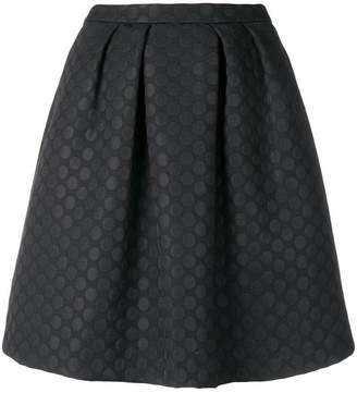 Paul Smith dotted A-line skirt