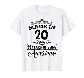 Happy 1920 It's My 99th Years Old Birthday Gift Ideas Shirt