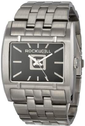 Rockwell Time ' Apostle' Quartz Stainless Steel Dress Watch