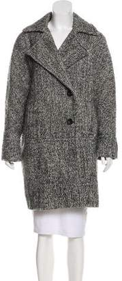 Calvin Klein Wool-Blend Long Coat