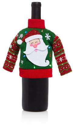 Bloomingdale's LED Santa Sweater Bottle Cover - 100% Exclusive
