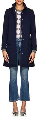 Lisa Perry Women's Snazzier Wool Coat - Navy