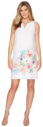 Tommy Bahama Hibis-Sketch Sleeveless Short Dress Women's Dress