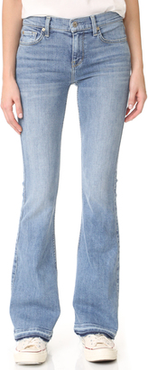 7 For All Mankind Ali Flare Jeans with Released Cuffs $199 thestylecure.com