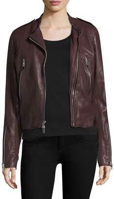 Rag & Bone Women's Lyon Leather Jacket