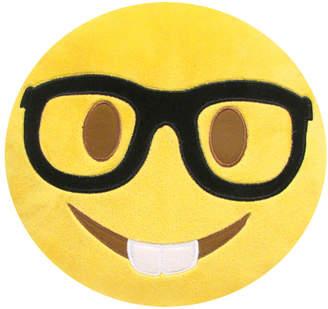 Kids Preferred Small Emoji Nerd Face Pillow