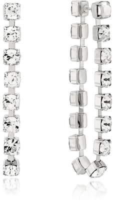 Christopher Kane Crystal Chain Earrings