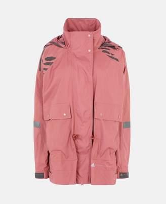 Stella McCartney Red Running Ultralight Jacket, Women's