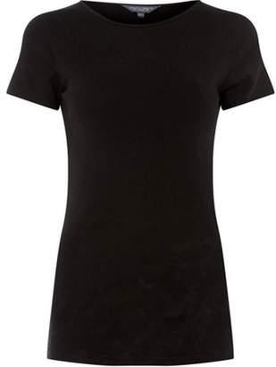 Dorothy Perkins Womens **Tall Black Short Sleeve Top