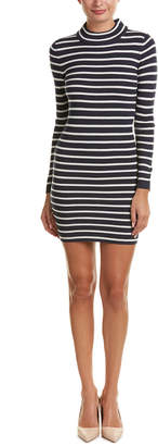 Noisy May Ribbed Knit Midi Dress