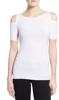 Women's Bailey 44 'Deneuve' Cold Shoulder Top $86 thestylecure.com