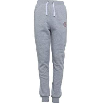 Board Angels Girls Fleece Jog Pants Grey Marl