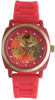 Tko Orlogi TKO Orlogi Women's Milano Mechanical Skeleton Watch