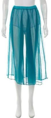 Kenzo Mesh Midi Skirt