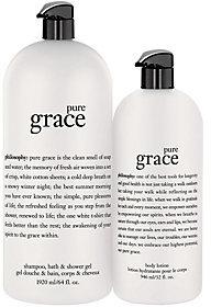 PhilosophyPhilosophy Pure Grace Mega-Size Shower Gel & Body Lotion Duo
