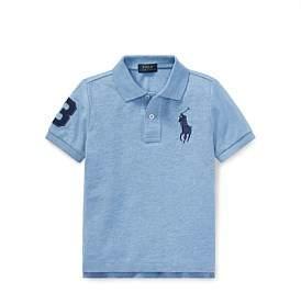 Polo Ralph Lauren Cotton Mesh Polo Shirt (4-7 Years)