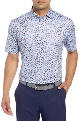 Peter Millar Crown Sport Rowan Brewers Print Performance Jersey Polo