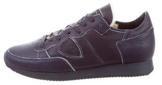 Philippe Model Leather Low-Top Sneakers w/ Tags