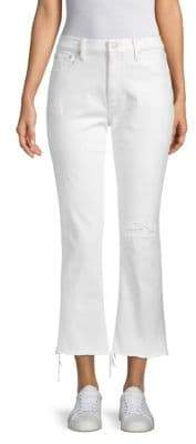 Polo Ralph Lauren Chrystie Kick-Flare Cropped Jeans
