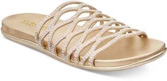 Kenneth Cole Reaction Women's Slim Slide Flat Sandals Women's Shoes