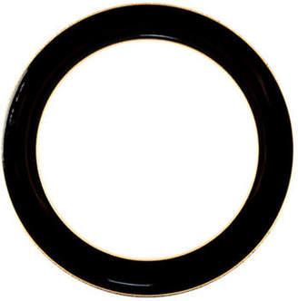 Denby Praline Noir Stoneware Wide Rim Dinner Plate