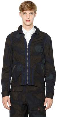 Kolor Printed Cotton Poplin Jacket