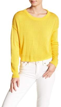 Absolutely Cotton Crop Wide Sweater