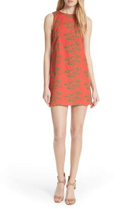 Alice + Olivia Clyde Cotton Shift Dress