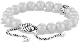 David Yurman Spiritual Beads Bracelet with Pearls