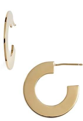 Jennifer Zeuner Jewelry Golda Small Hoop Earrings