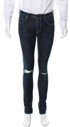 AllSaints Skinny Distressed Jeans
