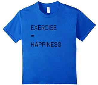 Official Exercise Equals Happiness T-Shirt