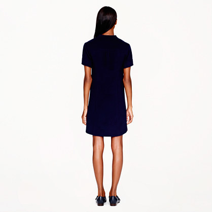 J.Crew Collection double-faced wool dress