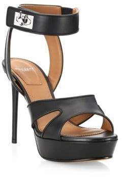 Givenchy Shark Stiletto Platform Sandals
