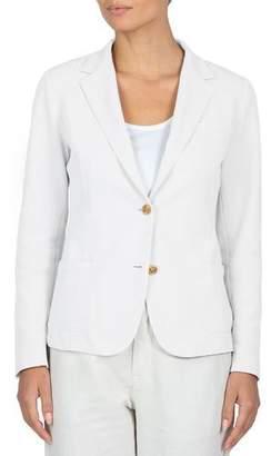 Eleventy Stretch-Cotton Blazer Jacket