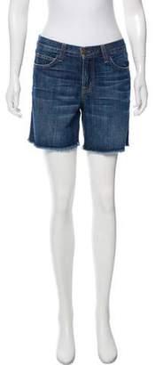 Current/Elliott Mid-Rise Denim Shorts