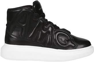 Alexander McQueen Oversized Hi-top Sneakers