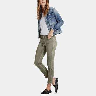 AG Jeans Prima Crop Jean in Sea-Soaked Silver Sage